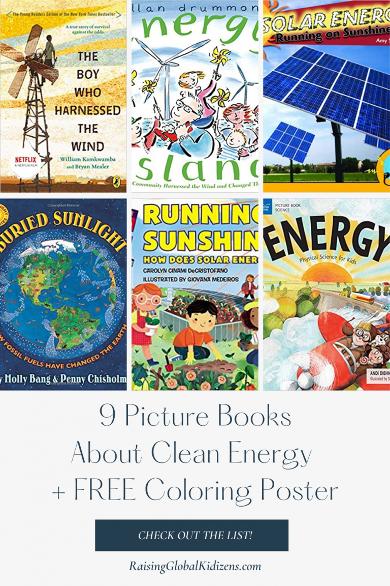 Affordable & Clean Energy   Picture Book List For United Nations Sustainable Development Goal #7